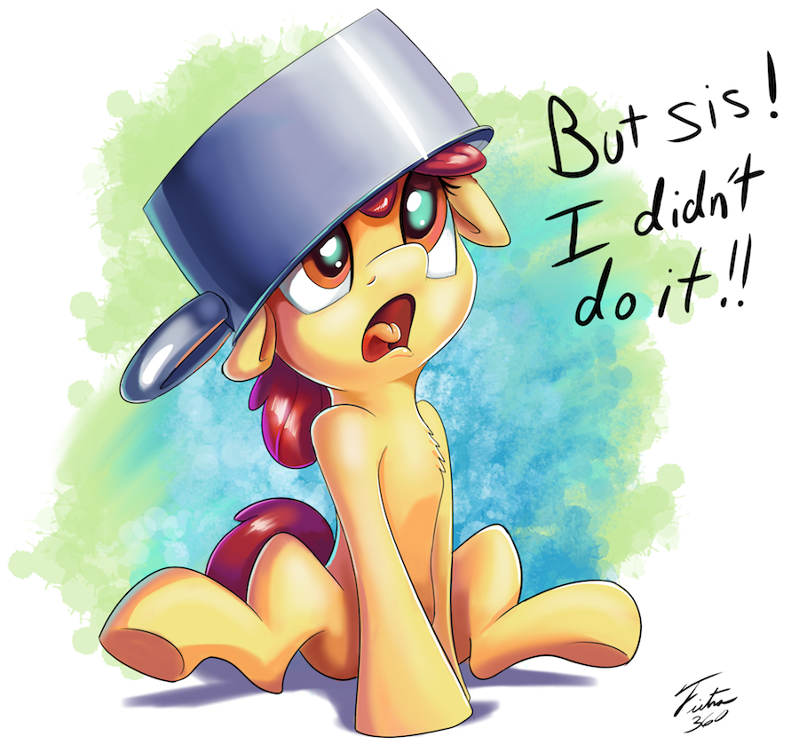 I didn't Do It by Tsitra360