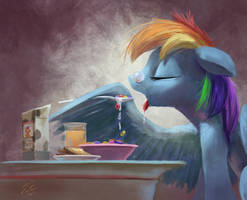 Pegasi Breakfast by Tsitra360