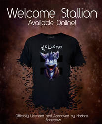 WelcomeStallion Tee_NOW AVAILABLE by Tsitra360