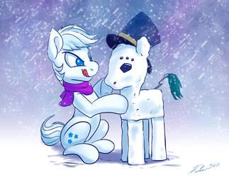 Snow Ponies - 30 Min Challenge by Tsitra360
