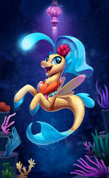 Princess Skystar Seapony by Tsitra360