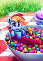 Skittles Dash by Tsitra360