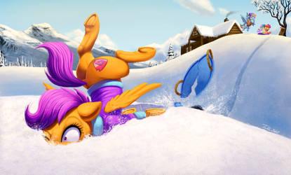 Snowplant by Tsitra360