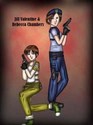 RE Jill and Rebecca by NiniJohnson08
