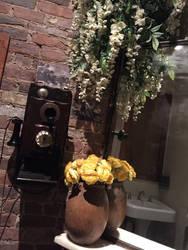 Bathroom Phone Calls by PktPictures