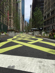 NYC Yellow Brick Road by PktPictures