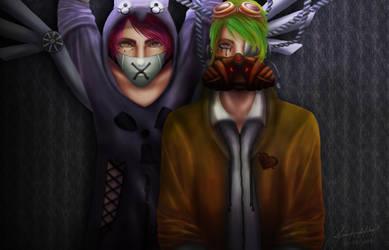 Admin and Moderator by Sikari888