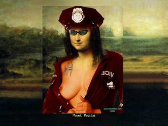 Mona Police by darastean