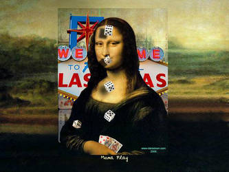 Mona Play by darastean