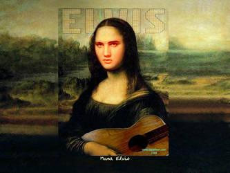 Mona Elvis by darastean