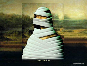 Mona Mummy by darastean