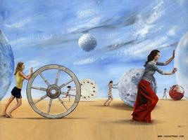Feminine Mouvement by darastean