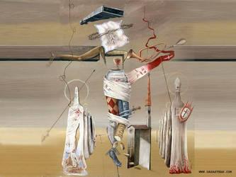 Surreal Crucify by darastean