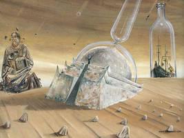 Glass Desert by darastean