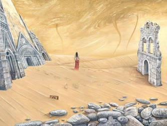 Those Three Sand Storms by darastean