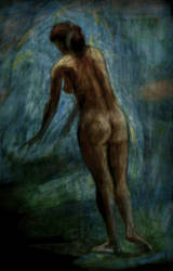 Au bain by lunedark