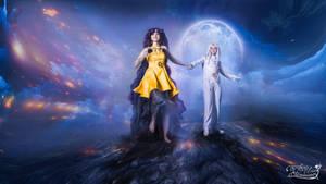 Luna and Artemis by Likanda
