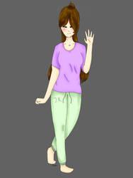 'hi!'  drawing by Maria-chan21