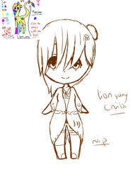 Lion yang chibi wip reference  by Maria-chan21