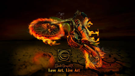 Desert Motocross Art_Shift_GraphiX by ShiftgraphiX