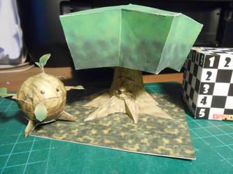 Great Deku Tree Papercraft by gardevoir7