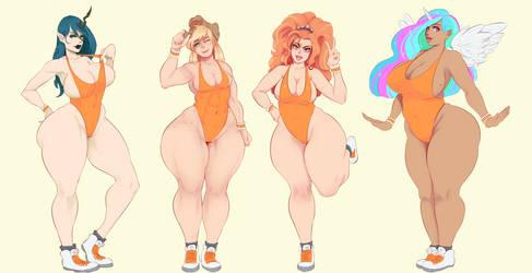 Sunset girls! by SunnyQ