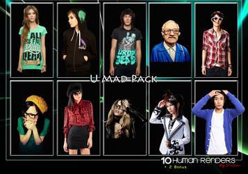 u Mad Pack by xFuziion