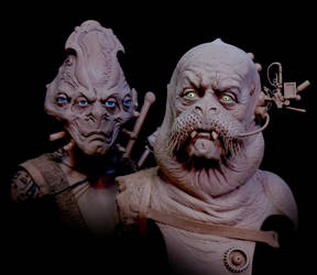 Character Design Maquettes - Star Trek Beyond by DonLanning