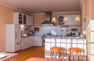 Kitchen by AH-Kai