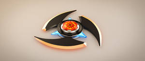 Sci-fi Shuriken by AH-Kai