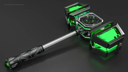 Sci-fi Hammer 5 by AH-Kai
