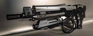 Sci-fi Rifle by AH-Kai
