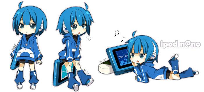 Ipod nano newest series by Keichan411