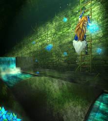Renegade Knight - Aqueducts by RadianceStudio