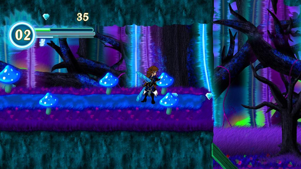 Renegade Knight - Dark Forest Screenshot 01 by RadianceStudio