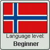 Norwegian Language Level stamp by Rayne-Feather