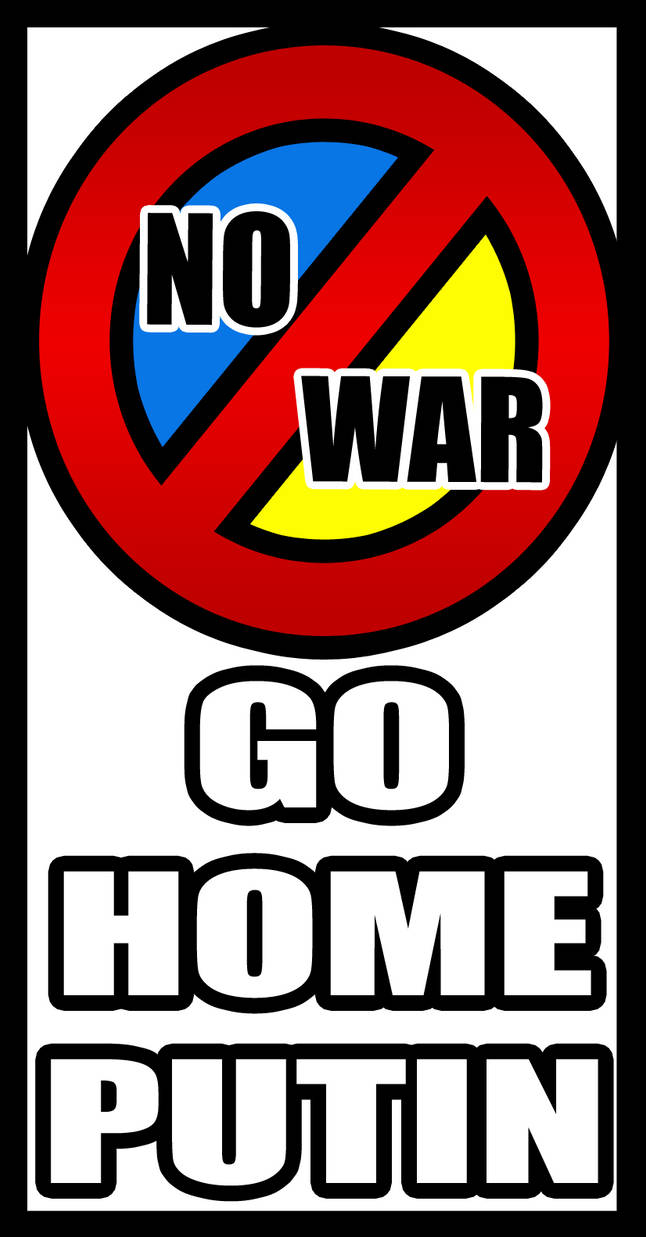 No War in Ukraine! by Rayne-Feather