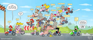Someday in Mario Kart 17 by TheBourgyman