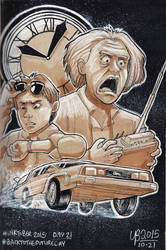 Back To The Future: Straight Outta Time by TheBourgyman
