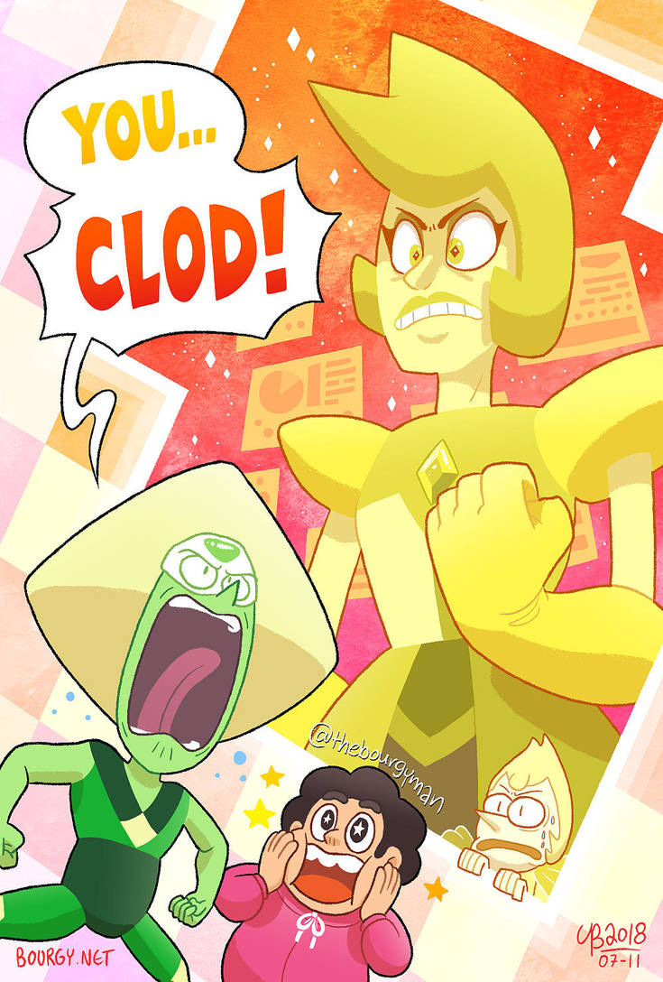 Posted this earlier on other social platforms but forgot to do it on DA... oh well! Continuing the Diamond Authority series of Steven Universe prints. Here's Yellow Diamond, featuring her in a memo...