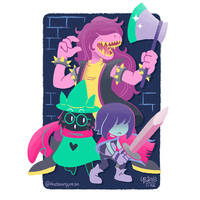 Deltarune by TheBourgyman