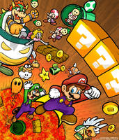 The Super Mario Brothers by TheBourgyman