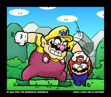 Mario and Wario by TheBourgyman
