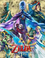 Skyward Sword Random Ad Poster by SumomoSushi