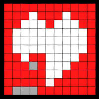 Love is a brick game by kodereaper