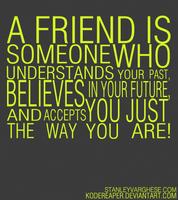 Friend is.. by kodereaper