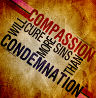 Compassion Will Cure.. by kodereaper