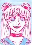 Sailor Moon by stuffaeamade