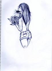 Flower girl by Agis666