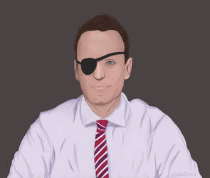 Alexey Navalny by p1nkertoon